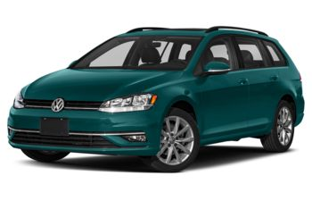 2019 Volkswagen Golf SportWagen - Peacock Green Metallic