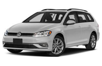 2019 Volkswagen Golf SportWagen - White Silver Metallic