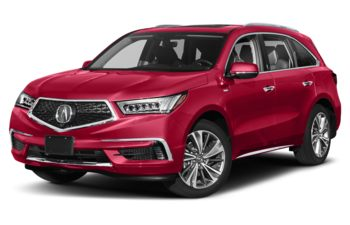 2019 Acura MDX Sport Hybrid - Performance Red Pearl