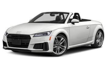 2019 Audi TT - Glacier White Metallic/Black Roof