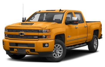2019 Chevrolet Silverado 3500HD - Wheatland Yellow