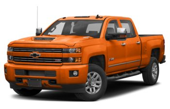 2019 Chevrolet Silverado 3500HD - Tangier Orange