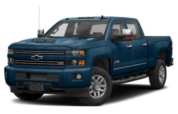 2019 Chevrolet Silverado 3500HD - Deep Ocean Blue Metallic