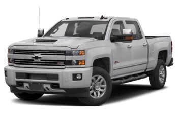 2019 Chevrolet Silverado 3500HD - Silver Ice Metallic
