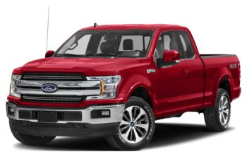2020 Ford F-150 - Race Red