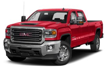 2019 GMC Sierra 3500HD - Cardinal Red