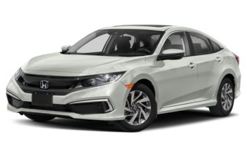 2020 Honda Civic - Platinum White Pearl