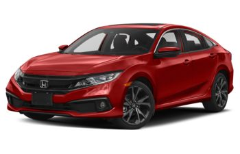 2020 Honda Civic - Rallye Red