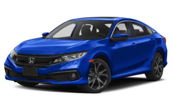 2021 Honda Civic - Aegean Blue Metallic
