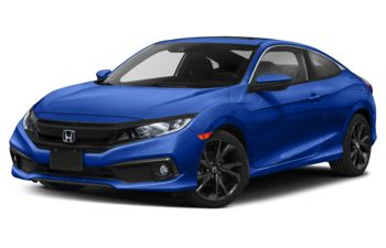 2019 Honda Civic - Aegean Blue Metallic