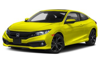 2019 Honda Civic - Tonic Yellow Pearl