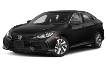 2019 Honda Civic Hatchback - Crystal Black Pearl