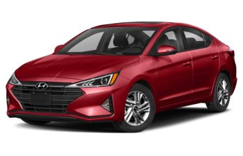2020 Hyundai Elantra - Fiery Red