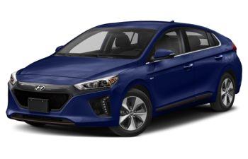 2019 Hyundai Ioniq EV - Intense Blue Pearl