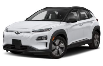 2019 Hyundai Kona EV - Chalk White Metallic w/Black Roof