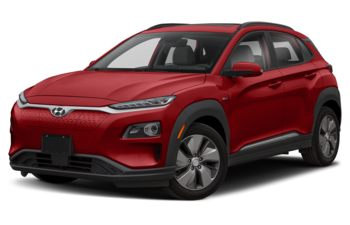 2020 Hyundai Kona EV - Pulse Red