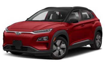 2021 Hyundai Kona EV - Pulse Red w/Black Roof