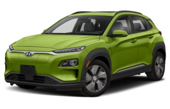 2020 Hyundai Kona EV - Acid Yellow