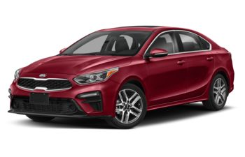 2021 Kia Forte - Radiant Red