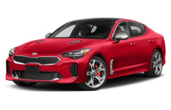 2020 Kia Stinger - California Red