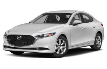 2020 Mazda 3 - Snowflake White Pearl