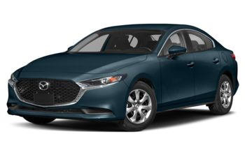 2020 Mazda 3 - Deep Crystal Blue Mica