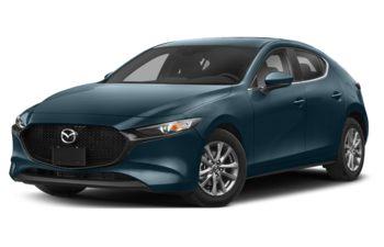 2020 Mazda 3 Sport - Deep Crystal Blue Mica