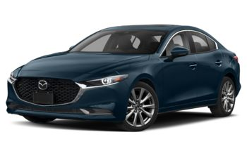2019 Mazda 3 - Deep Crystal Blue Mica