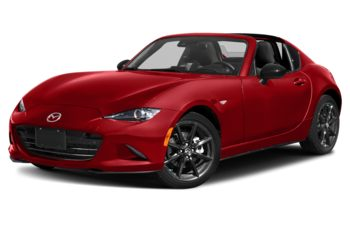 2021 Mazda MX-5 RF - Soul Red Crystal Metallic