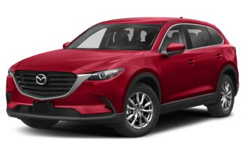 2020 Mazda CX-9 - Soul Red Crystal Metallic