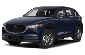 2021 Mazda CX-5 - Deep Crystal Blue Mica