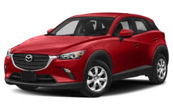 2021 Mazda CX-3 - Soul Red Crystal Metallic