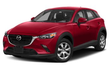 2020 Mazda CX-3 - Soul Red Crystal Metallic