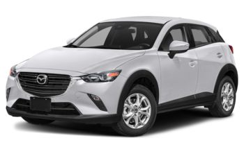 2021 Mazda CX-3 - Snowflake White Pearl