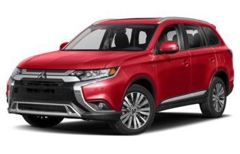 2020 Mitsubishi Outlander - Red Diamond