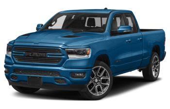 2021 RAM 1500 - Hydro Blue Pearl