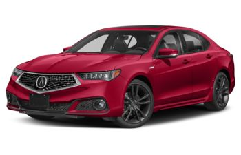 2020 Acura TLX - Performance Red Pearl