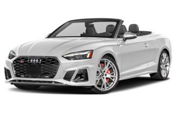 2020 Audi S5 - Glacier White Metallic/Red Top
