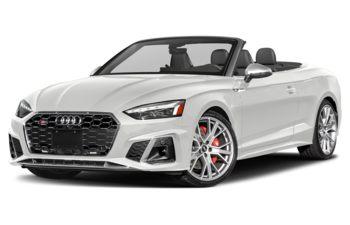 2020 Audi S5 - Ibis White/Red Top