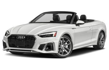 2021 Audi A5 - Ibis White/Brown Top