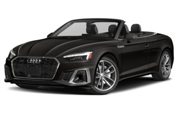 2021 Audi A5 - Mythos Black Metallic/Black Top