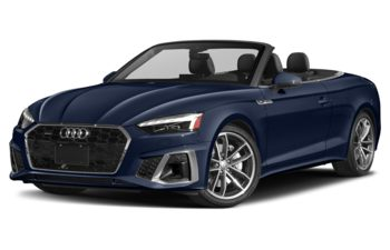 2021 Audi A5 - Navarra Blue Metallic/Grey Top