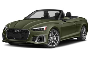 2021 Audi A5 - District Green Metallic/Black Top