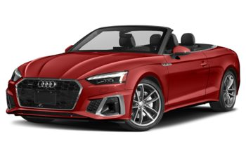 2021 Audi A5 - Tango Red Metallic/Black Top