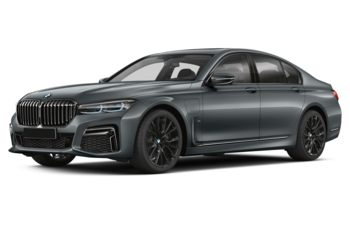 2020 BMW 745Le - Bemina Grey Amber Metallic