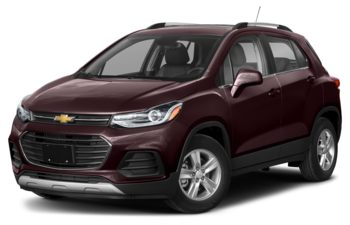 2021 Chevrolet Trax - Black Cherry Metallic
