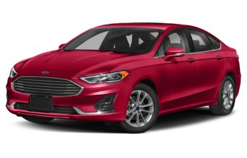 2020 Ford Fusion Hybrid - Rapid Red Metallic Tinted Clearcoat