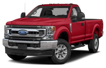 2021 Ford F-350 - Vermillion Red