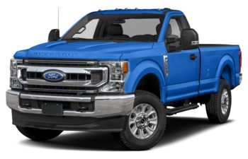 2021 Ford F-350 - Velocity Blue Metallic