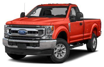 2021 Ford F-350 - Orange